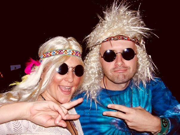 Halloween Hippies