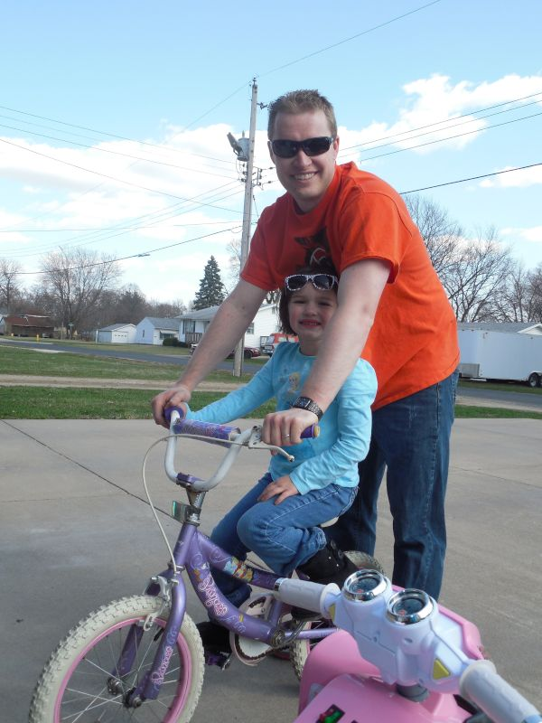 No More Training Wheels for This Niece!