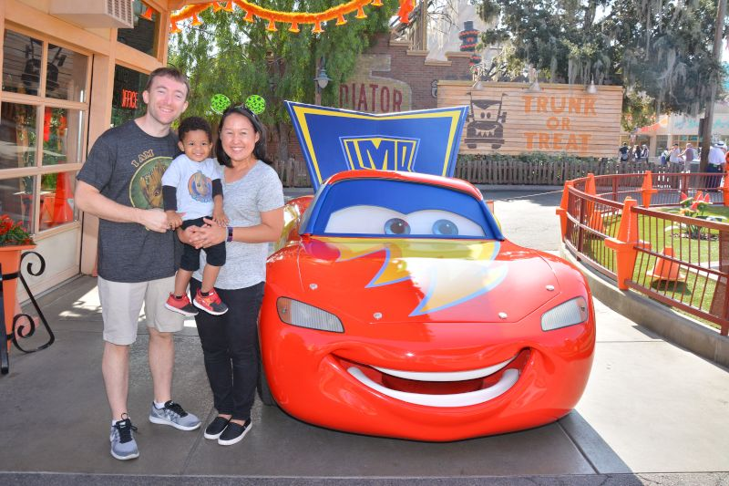 Meeting Lightening McQueen