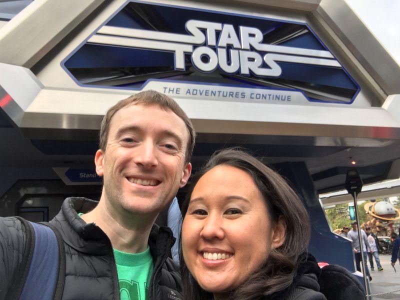 Visiting Tomorrowland at Disney