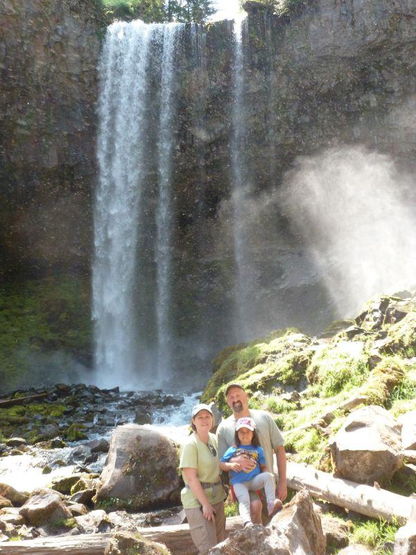 Tamanawas Falls Hike on Mt. Hood