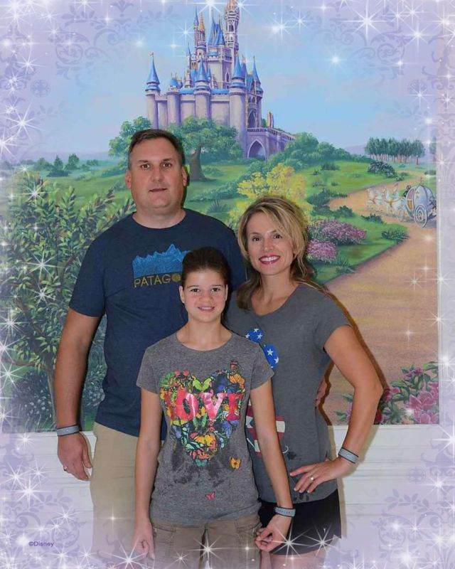 With Maddy at Disney World