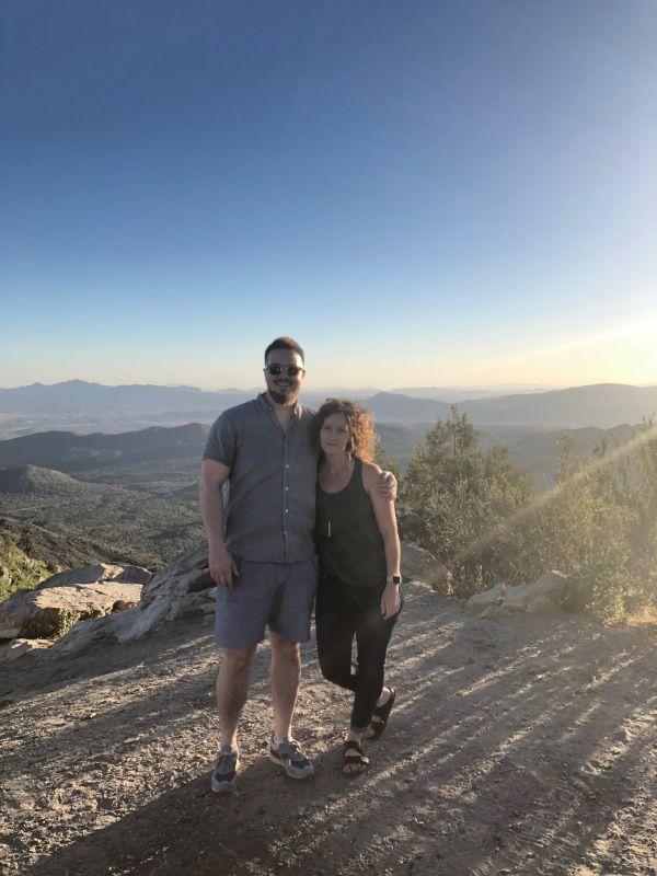 Watching the Sunset in Arizona