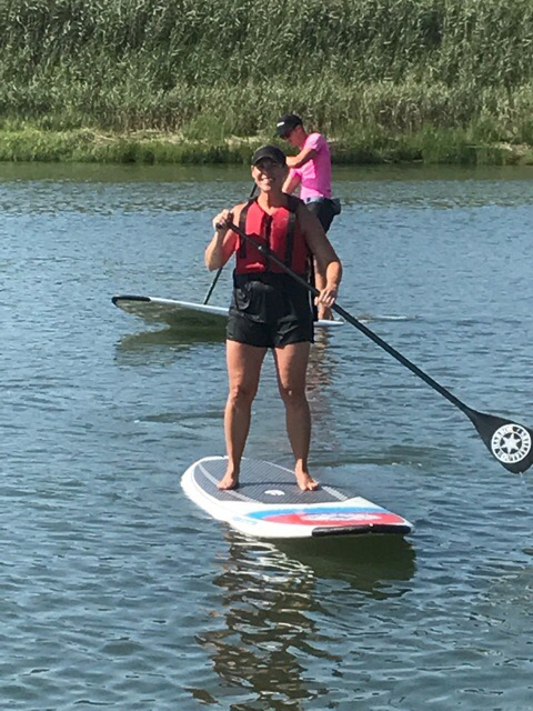 Heather Paddleboarding