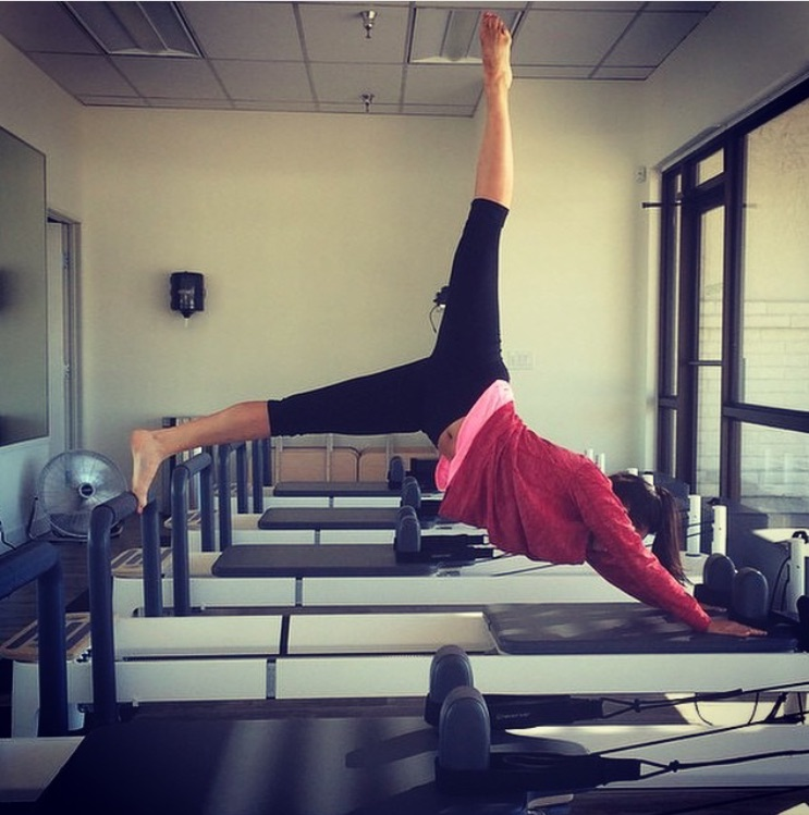Cher Enjoys Pilates