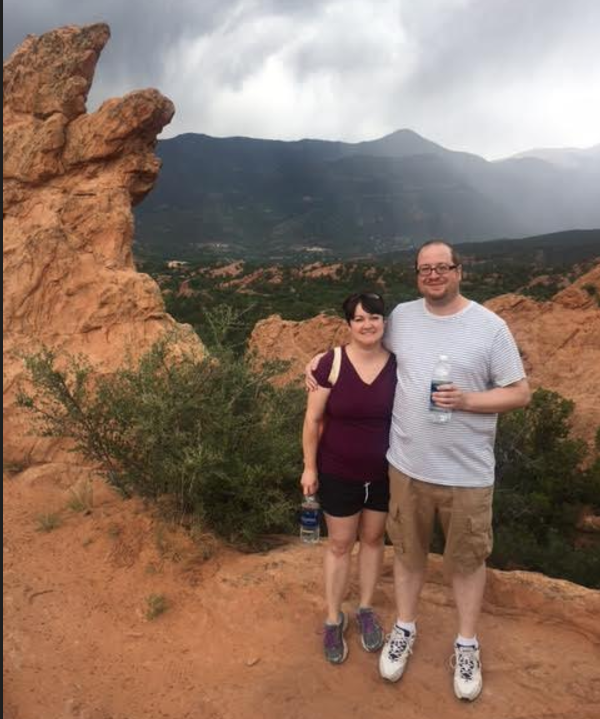 Hiking in the Garden of the Gods, Colorado