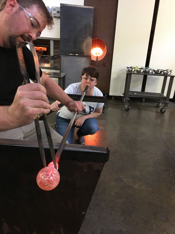 Local Glass Blowing Class