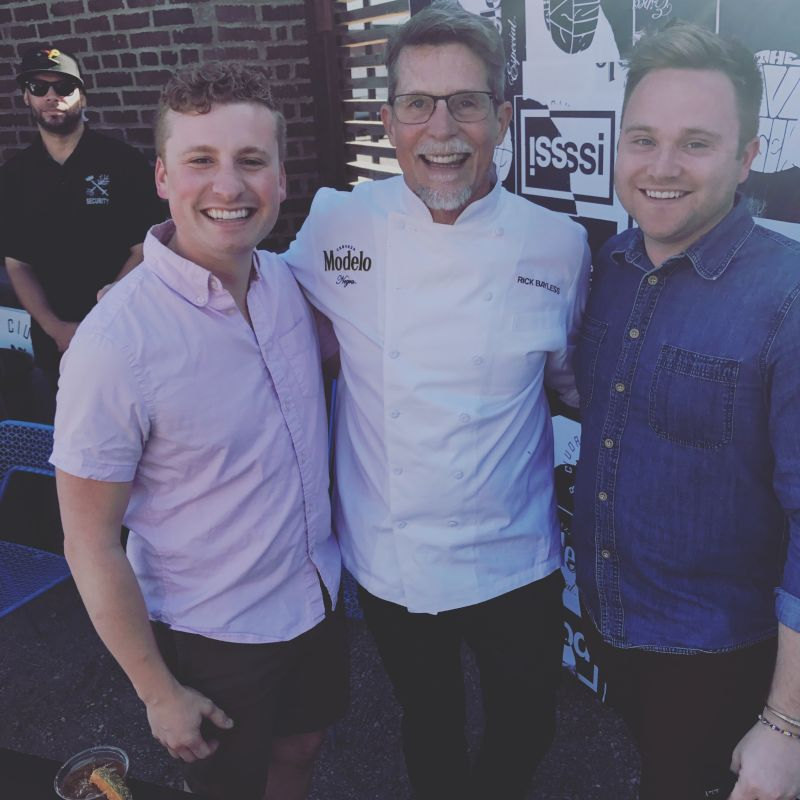 Meeting One of Our Favorite Chefs, Rick Bayless