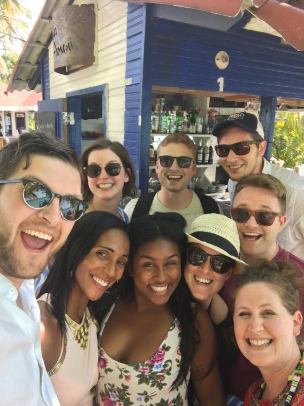 With Friends in the Dominican Republic