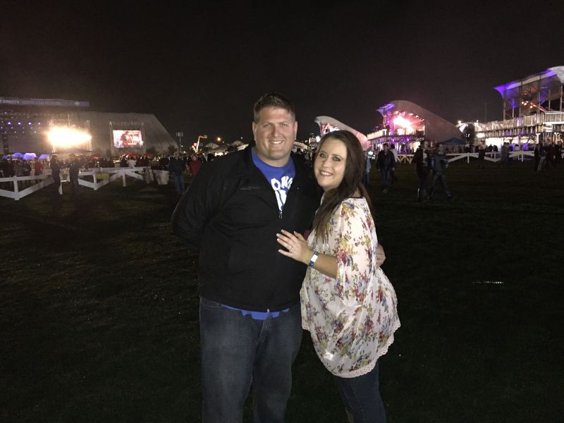 At an Outdoor Concert