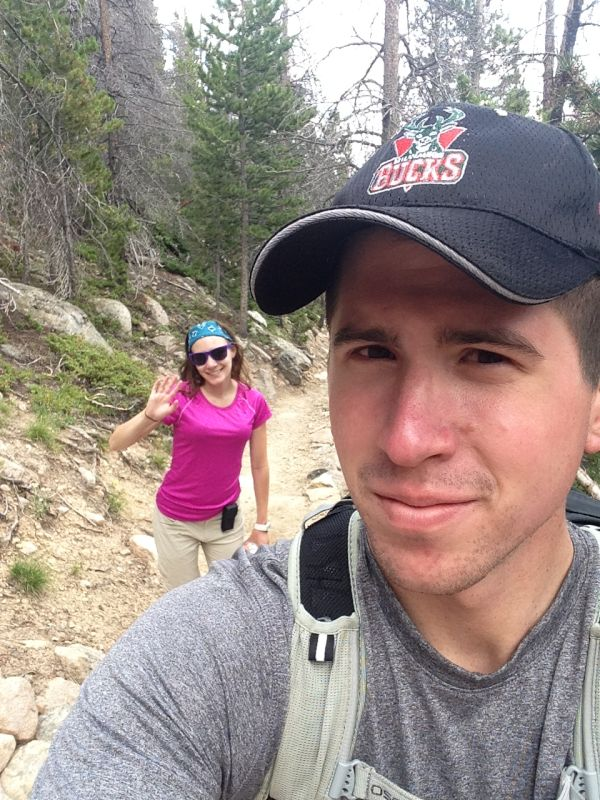 Hiking in the Rocky Mountains
