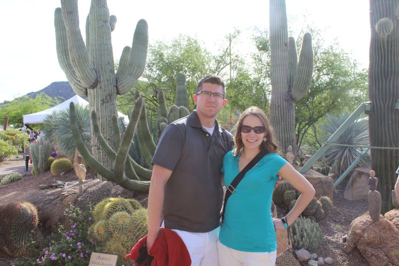 Visiting a Botanical Garden in Arizona