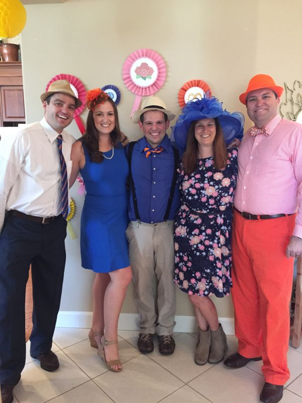 Derby Party with Friends