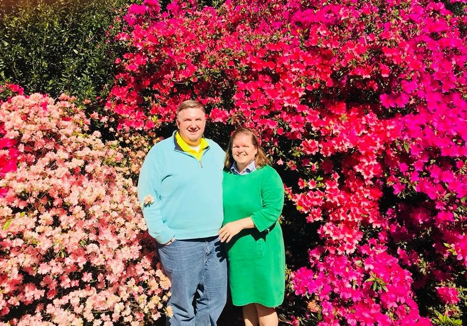 Enjoying the Gardens
