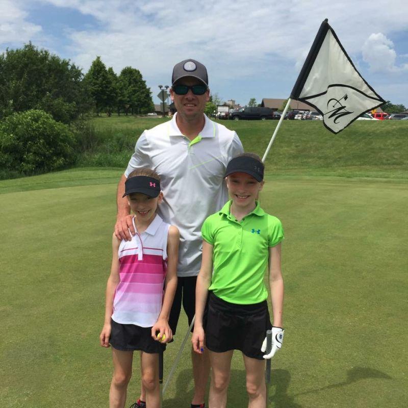 Matt Golfing With the Girls