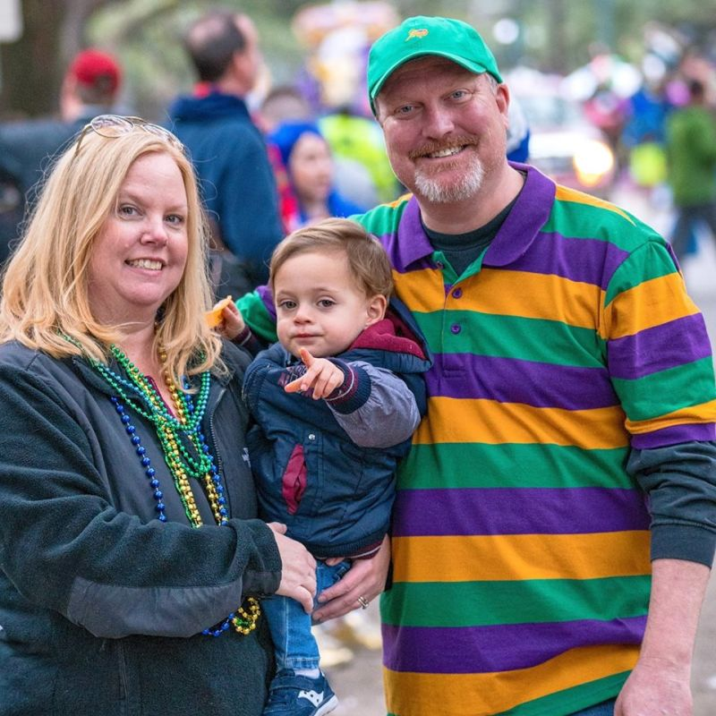 Family Fun at Mardi Gras