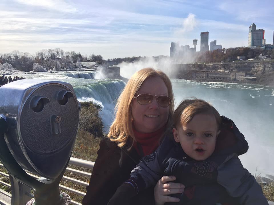 Janet & Owen at Niagara Falls