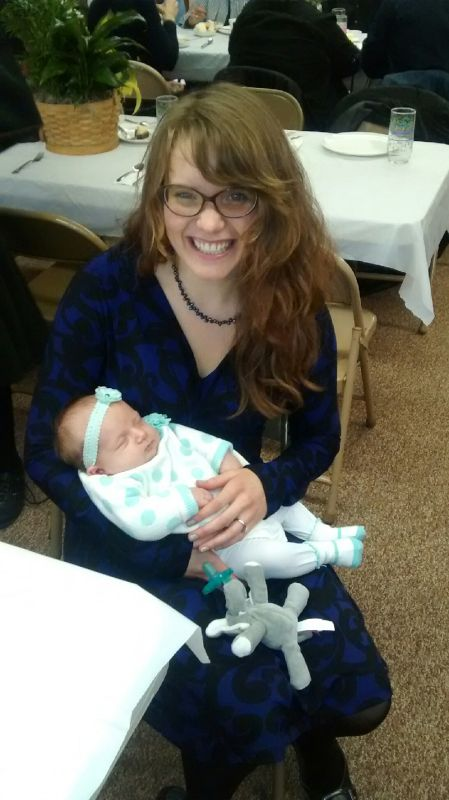 Mallori With Her Cousin's Daughter