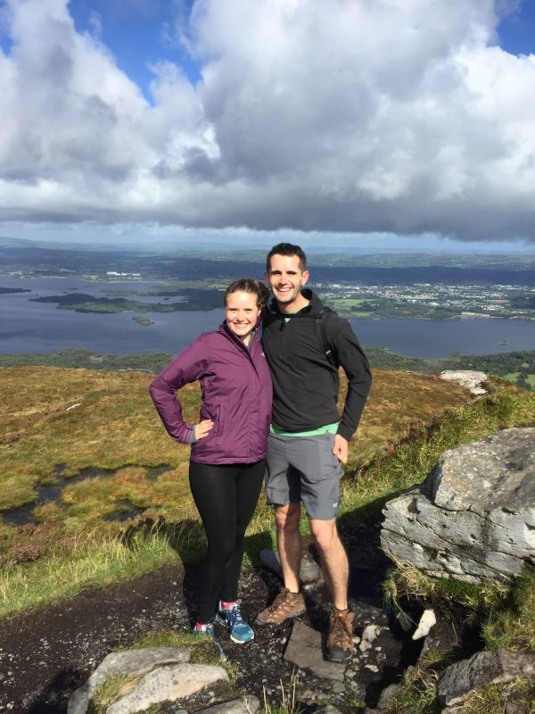 At the Top of Torc Mountain