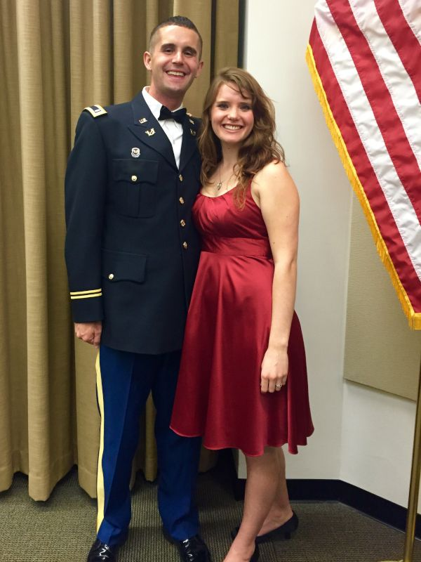 At a Military Formal Event