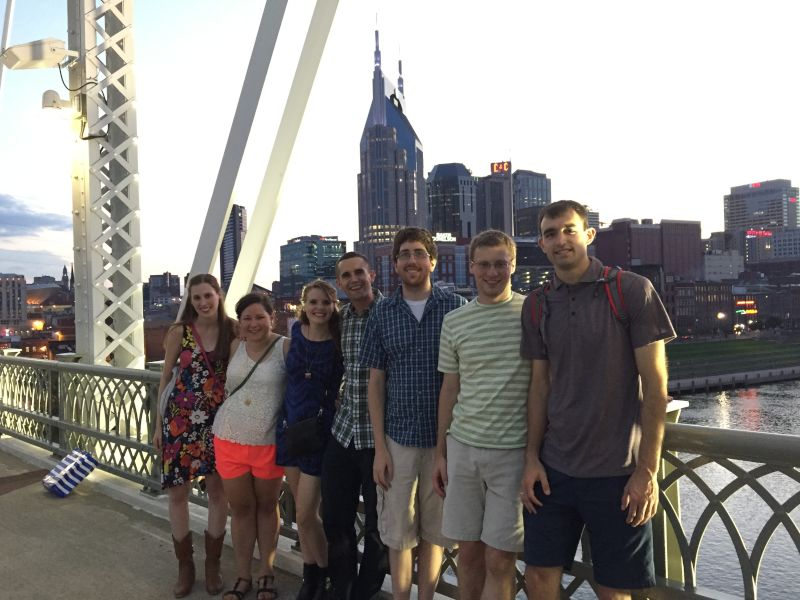 Exploring Nashville With Friends