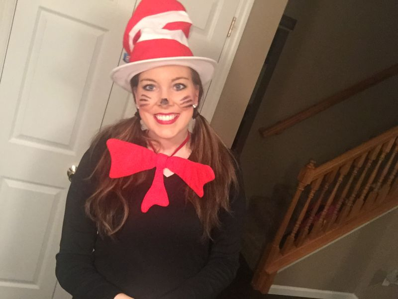Ashlee is Ready for Dr. Seuss Day!