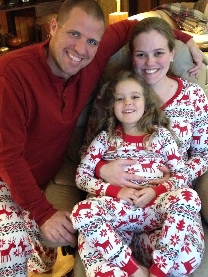 Matching PJs for Christmas