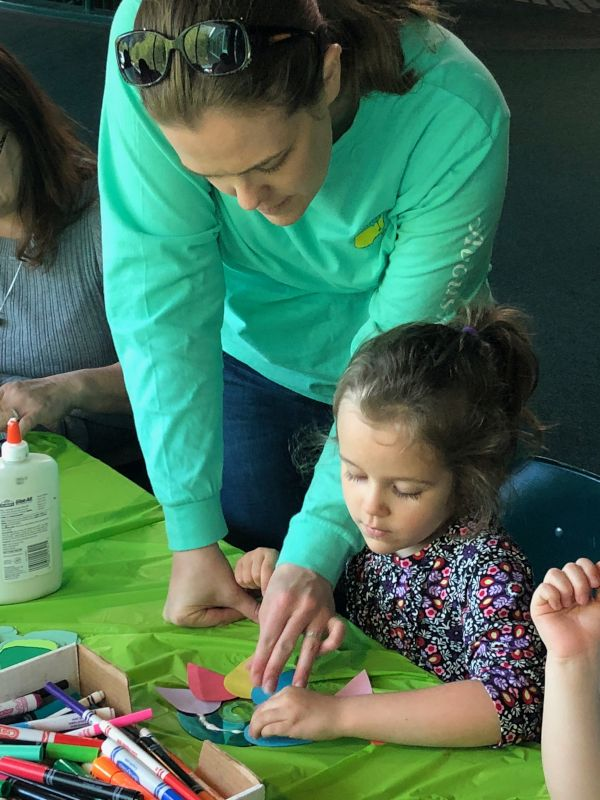 Doing Crafts Together at a Local Museum