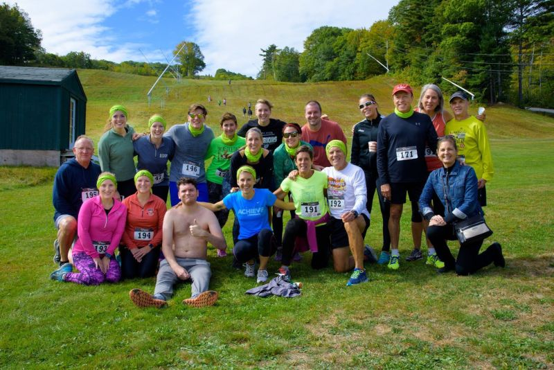 Running a 5K Race With Friends in Maine
