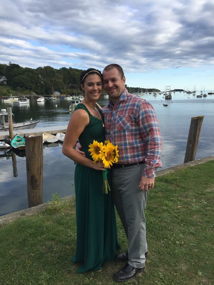 Celebrating a Friend's Wedding in Maine