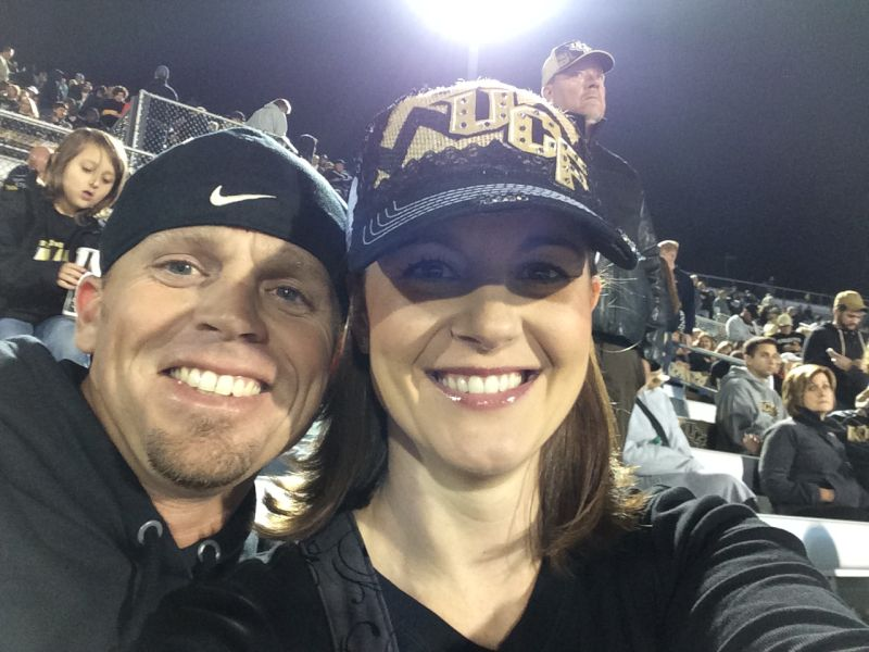 Fun at a College Football Game