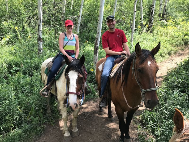 Horsing Around in Jackson Hole
