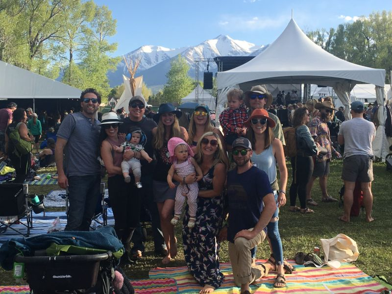 Camping, Mountains & Music With Family & Friends