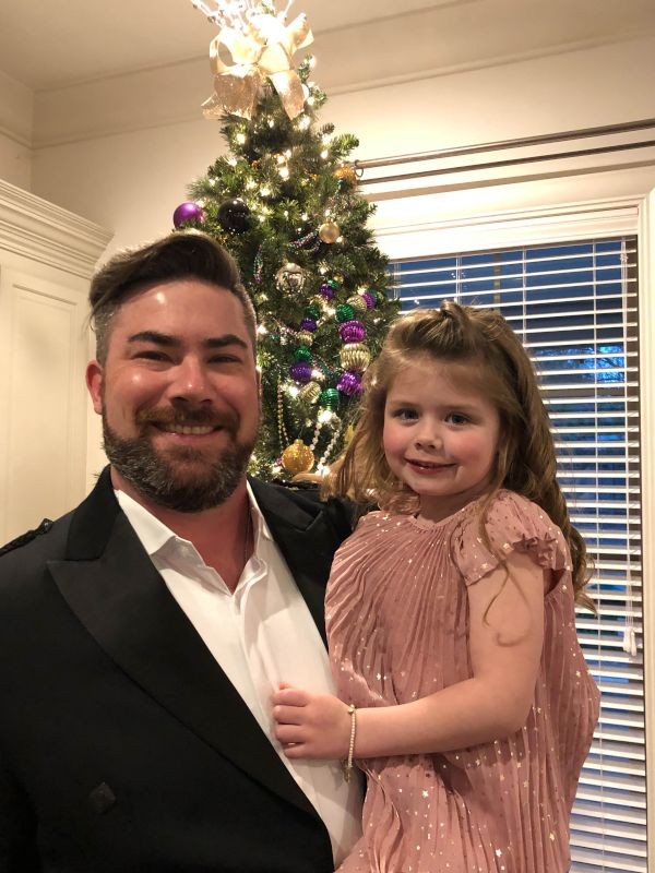 Trevor & Lorelei Going to the Father/Daughter Dance