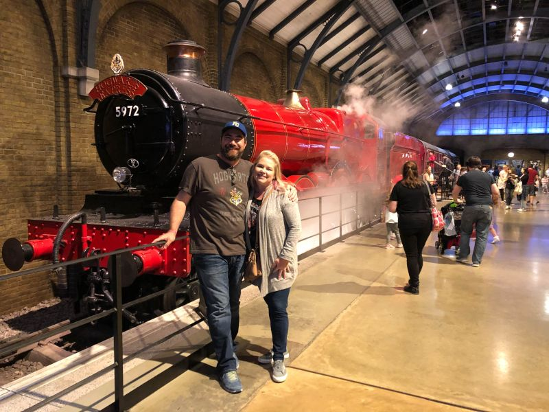 Having Fun at Harry Potter Studios in London