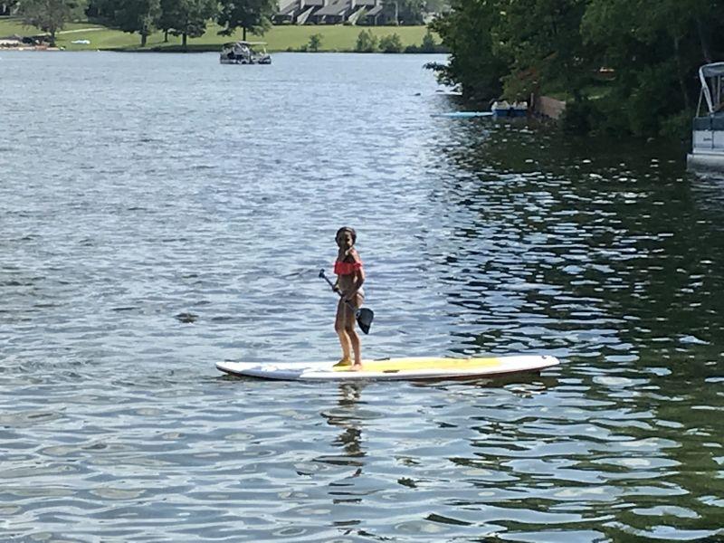 Sophia Paddleboarding