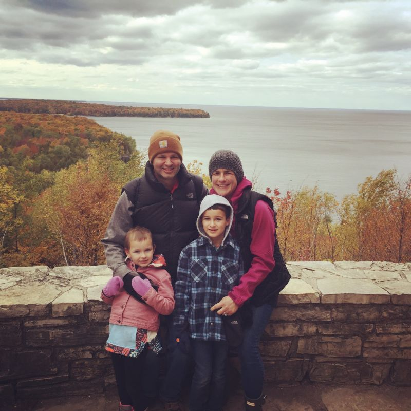 Fall Hike in Door County