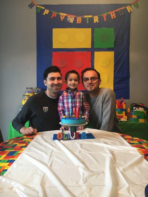 Celebrating Our Nephew's Birthday