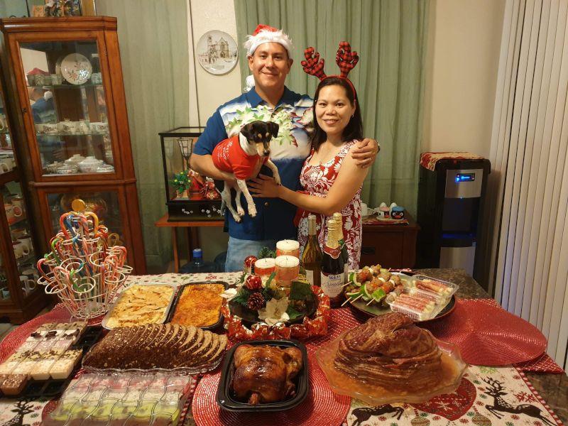 Christmas Dinner in Hawaii