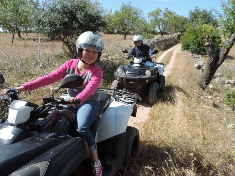 Riding ATV's in Portugal