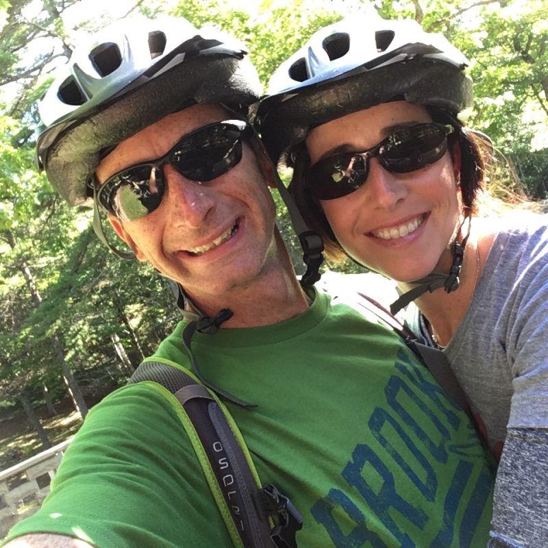 Post Bike Ride Bliss