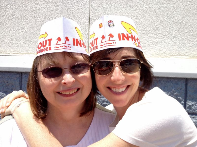 In-N-Out with Norm's Mom