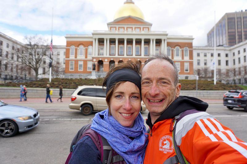 Touring Historical Boston