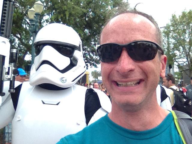 Stormtrooper Photo Bomb