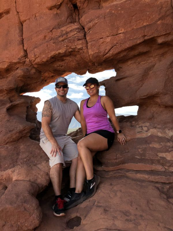 Hiking in the Garden of the Gods