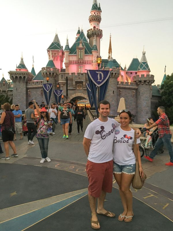 Engagement Trip to Disneyland