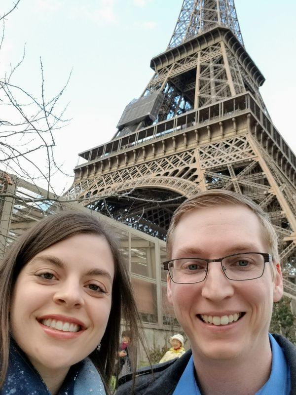 A Romantic Dinner at the Eiffel Tower to Celebrate Our Anniversary!