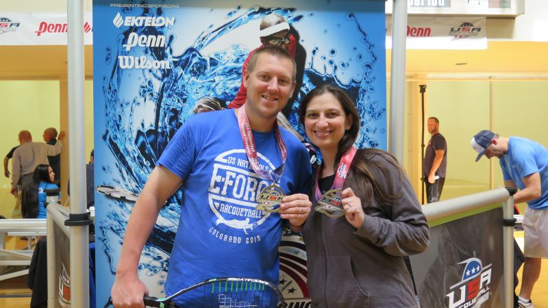 Flashing Some New Hardware at the Racquetball Nationals