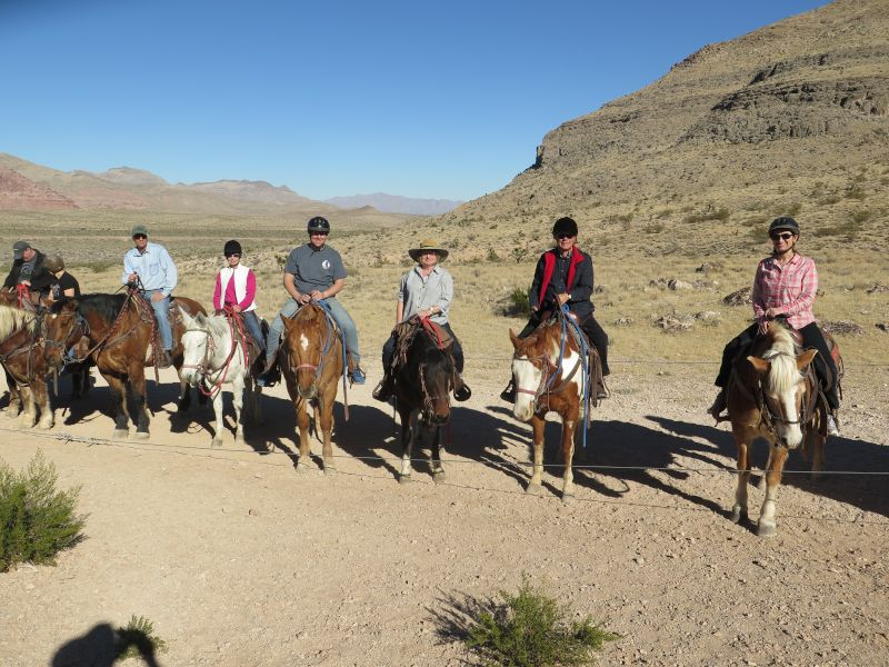 Horseback Riding With Family