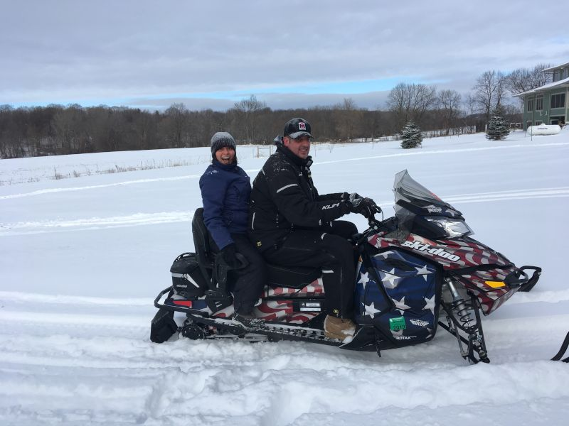 Snowmobiling in Wisconsin
